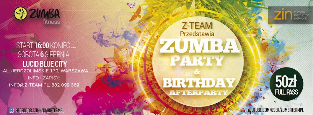 Zumba Party & Birthday Afterparty